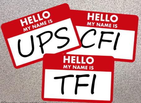 TFI, UPS, CFI and the Great Name Game