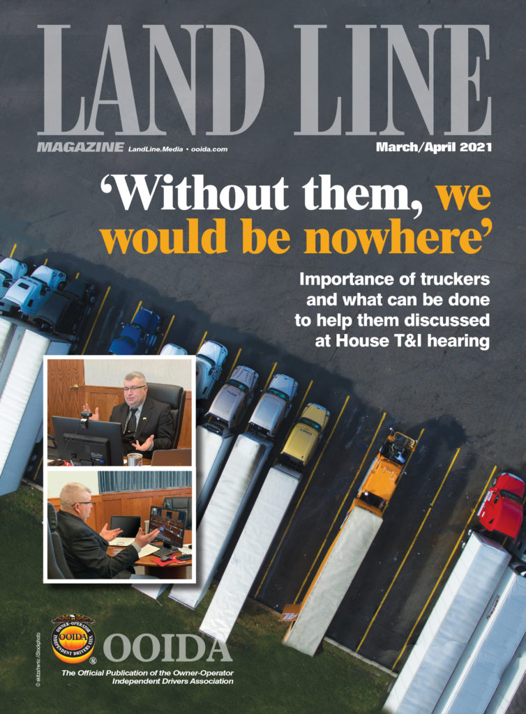 March/April 2021 Land Line Magazine cover