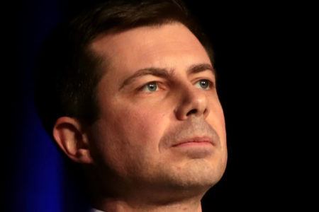 Transportation Secretary Pete Buttigieg