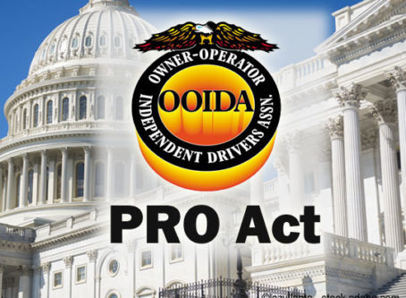 PRO Act would harm owner-operators, OOIDA says