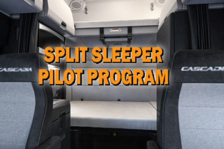 Split sleeper pilot program's future in question