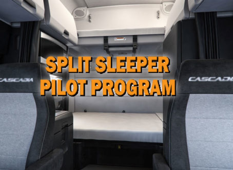 Split sleeper pilot program's future in question