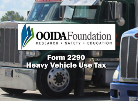 OOIDA Foundation releases Form 2290 video