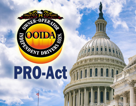 OOIDA opposes PRO Act