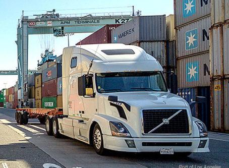 Port of Los Angeles truck – Credit Port of LA