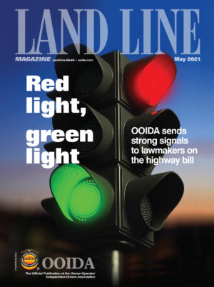 May 2021 Land Line Magazine cover