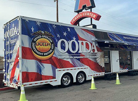 OOIDA's tour trailer