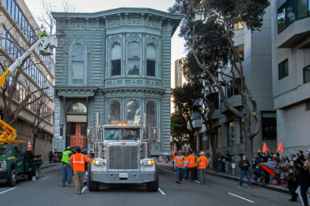 Scott Heavy Movers moving mansion San Francisco