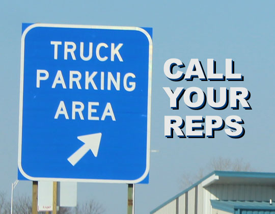 Truck Parking Safety Improvement Act picks up more support