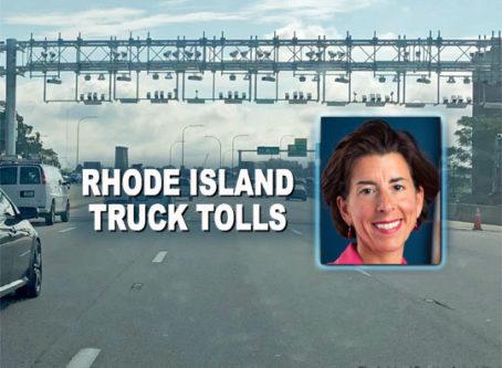 Rhode Island toll gantries, © Rhode Island Trucking Association