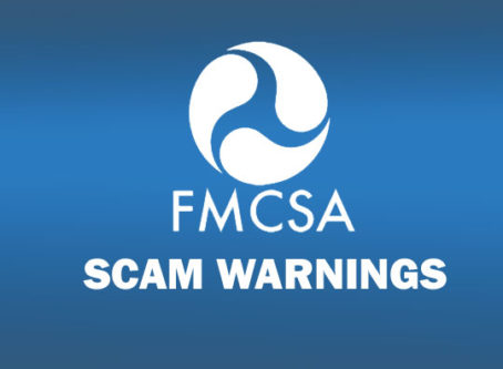 FMCSA warns motor carriers to be wary of scams