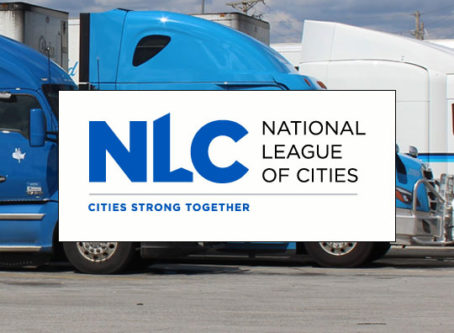 National League of Cities suggests giving unused parking spots to truckers