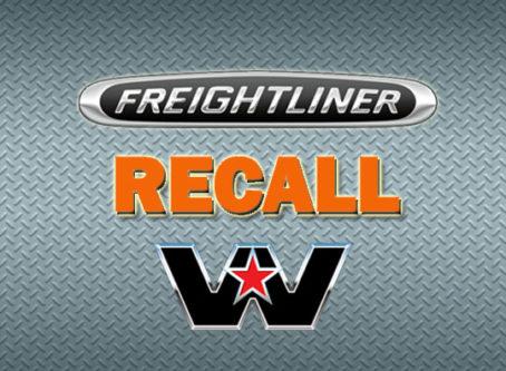 Freightliner, Western Star recall