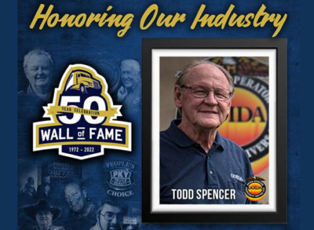 OOIDA's Spencer receives MATS Wall of Fame honor