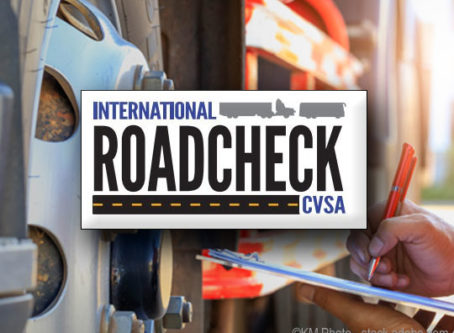 International Roadcheck inspection blitz