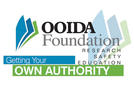 OOIDA Foundation getting your own authority