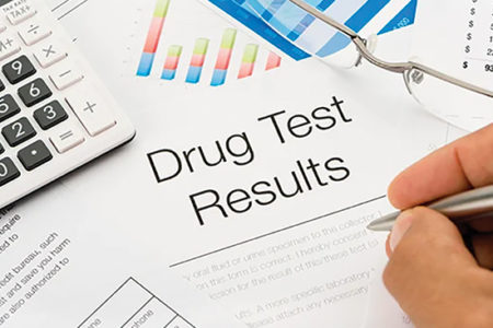 DOT drug testing data
