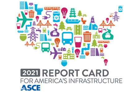 Infrastructure grades report card