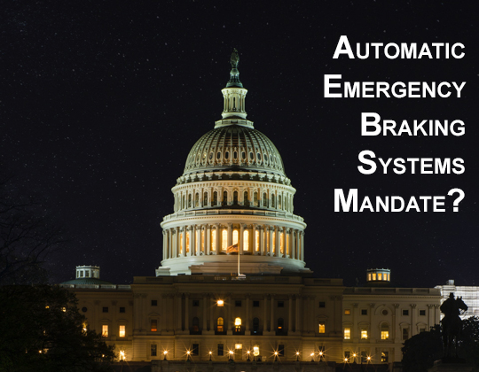 automatic emergency braking systems AEB