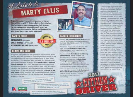 Citizen Driver Marty Ellis