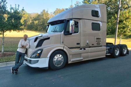 Ahmed Shaaban truck