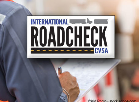 International Roadcheck safet inspection bliz