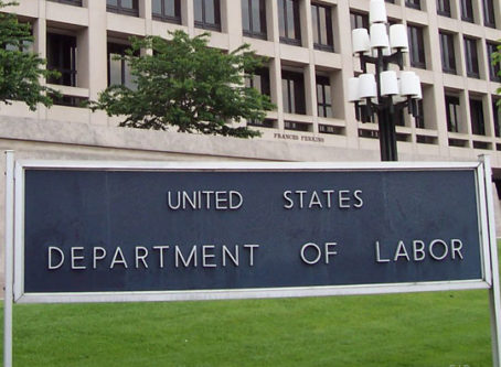 U.S. Labor Department will withdraw worker classification rule
