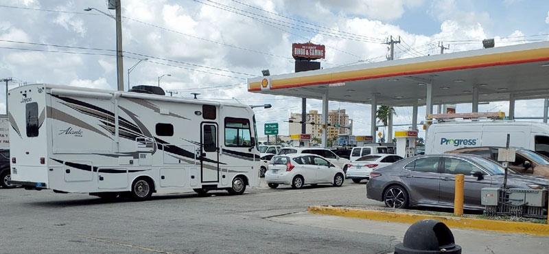 Florida gas lines, photo by OOIDA member Jeff Walker