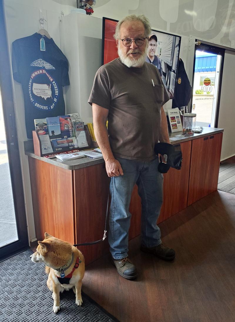 OOIDA life member Bruce Shepard