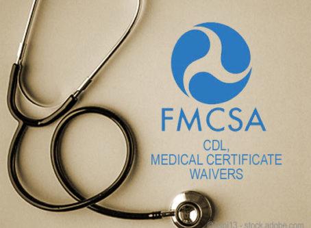 FMCSA extends CDL waivers through August
