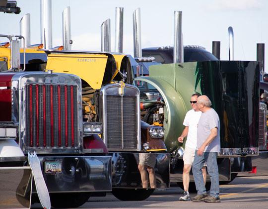 Walcott Truckers Jamboree Super Truck Beauty Contest
