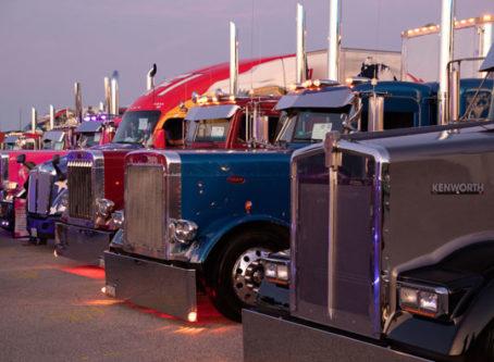 From the 2019 Walcott Truckers Jamboree. Truck drivers