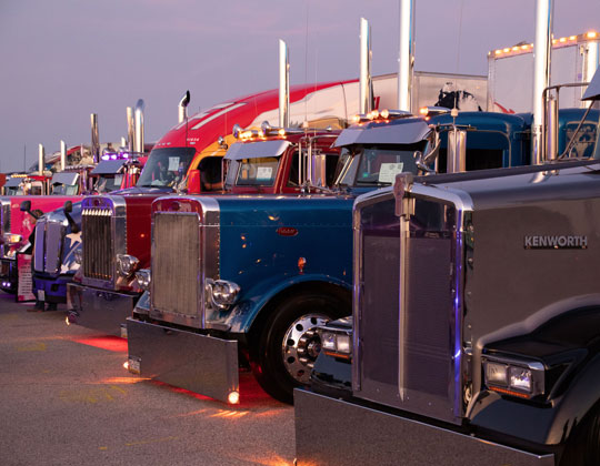 From the 2019 Walcott Truckers Jamboree.