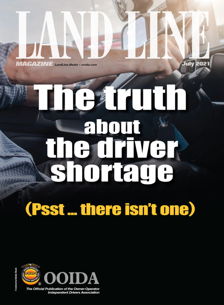 Land Line Magazine July 2021 cover