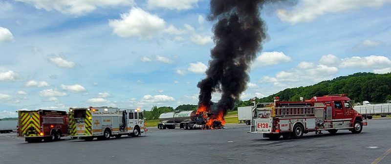 Memorial Day fire at White's Travel Center