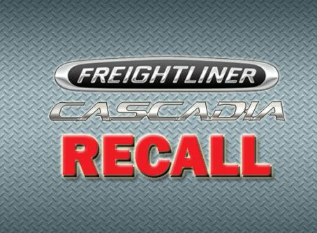 Daimler Freightliner Cascadia recall