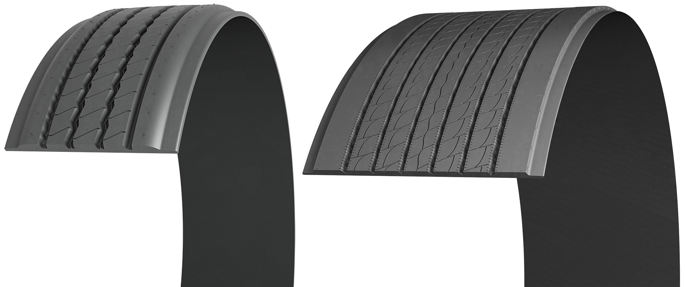 Michelin X Multi T-SA and X One Line Energy T2