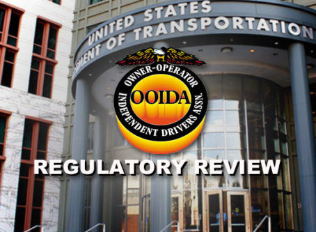 OOIDA calls on DOT to repeal 'unnecessary' regulations