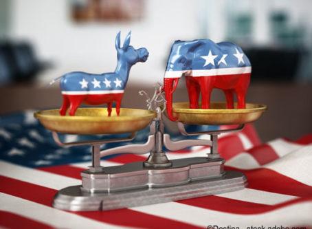 Republicans, Democrats divided