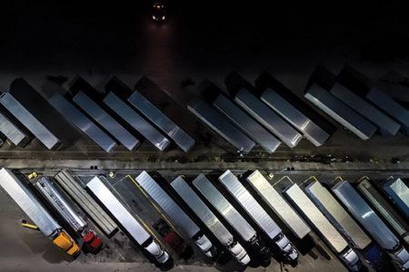 truck parking, atlanta, overnight truck parking