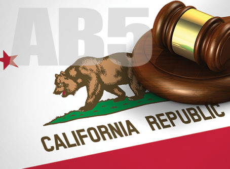 AB5 California flag