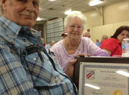 John Taylor ATHS Golden Achievement Award