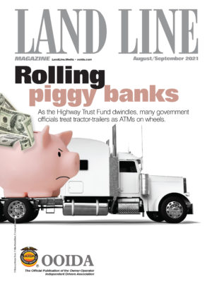 August-September 2021 issue cover of Land Line Magazine