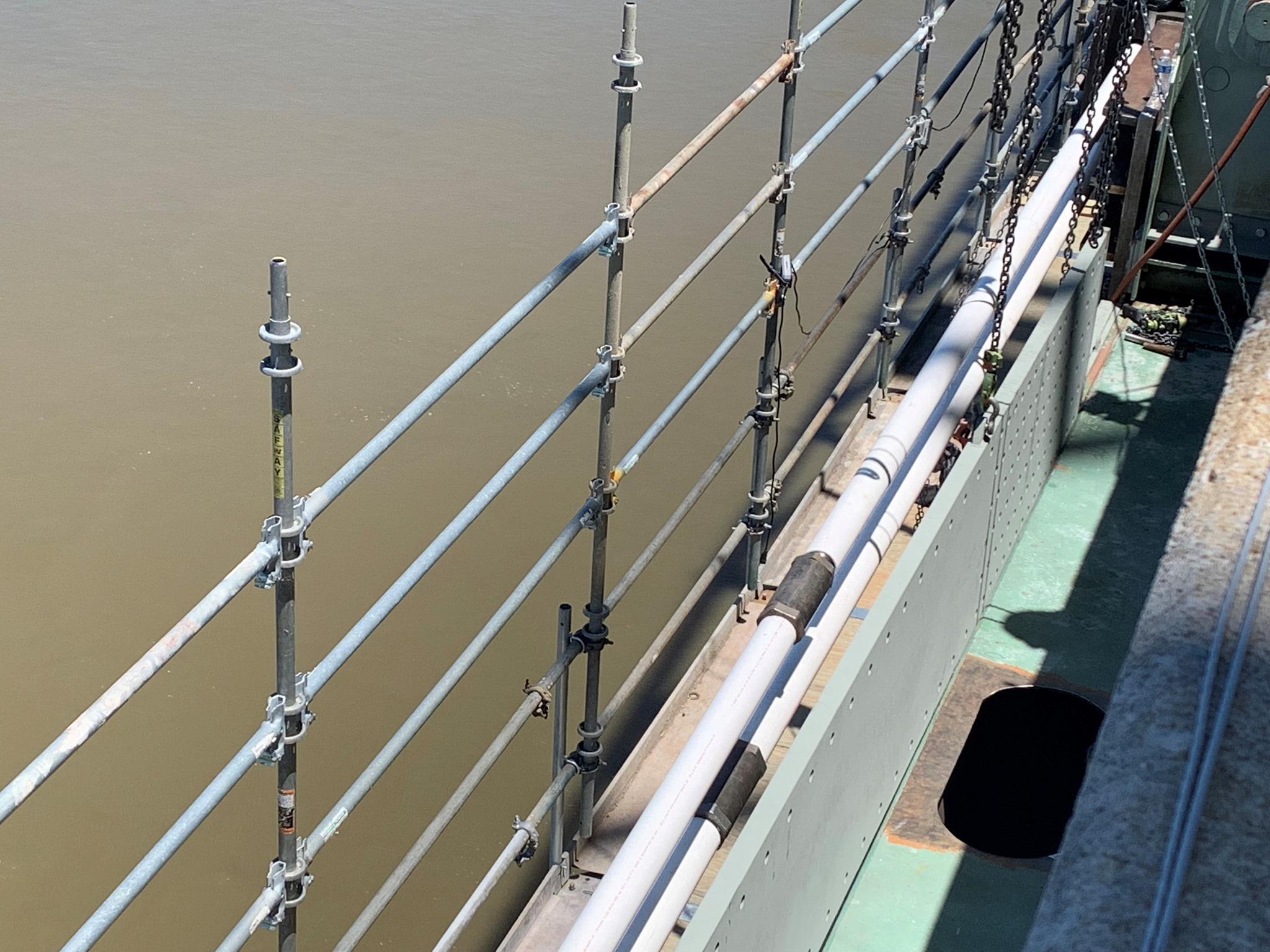 I-40 bridge plate repairs