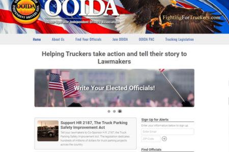Fighting for Truckers website