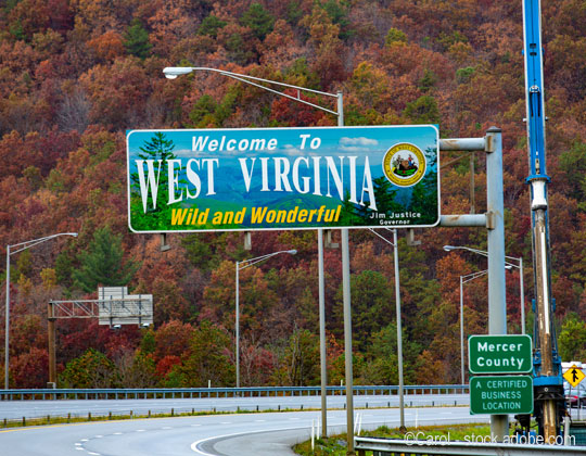 towing Welcome to West Virginia photo by Vit