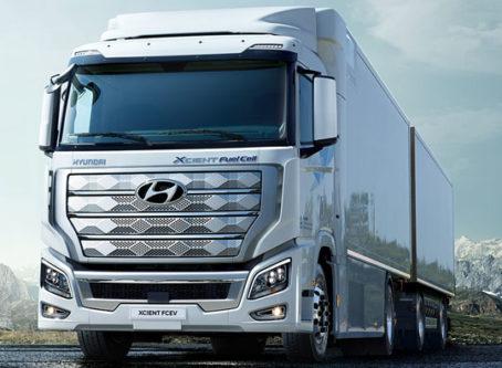 Hyundai Xcient Fuel Cell heavy-duty trucks