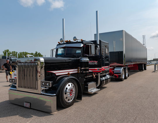 Best of show in the 2021 Shell Rotella SuperRigs