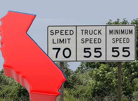 California speed limit