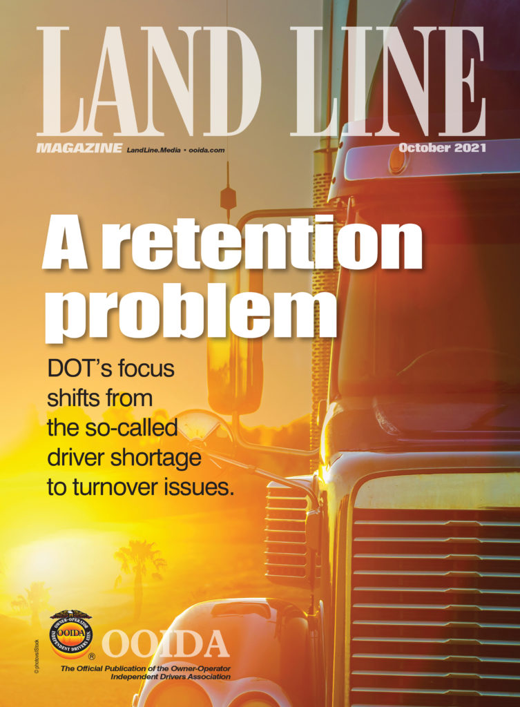 October 2021 Land Line Magazine Cover